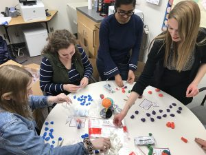 Undergrads prepping model magic brains